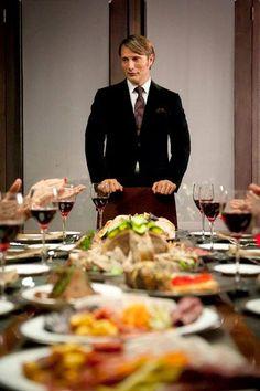 Its Hannibals Cannibal Dinner Time Humans dont know its not Humans!!!! Dun Dun Dun.......