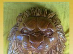 escultura la cabeza de un leon - Taringa!