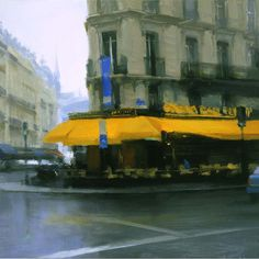 Yellow Awning, 2005. Love the color