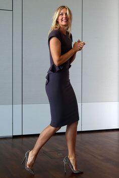 Maria Sharapova - Most Beautiful Girls Tall Women, Sexy Women, Maria Sharapova Hot, Sharapova Tennis, Maria Sarapova, Tennis Players Female, Hot High Heels, Dress And Heels, Dress Shoes