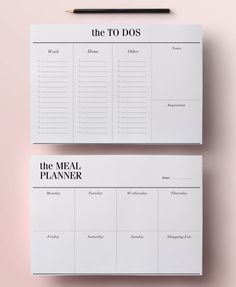 Planner Printable A5 Pack, 13 Modern Organizer Pages including Daily Planner…