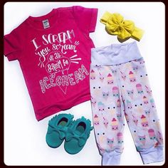 Our ice cream pants pair awesomely with this shirt from Eighth of August! We're a good team! <3 currently 10% off!