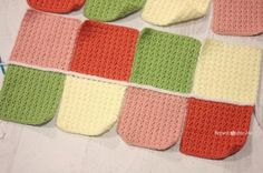 How to Join Solid Granny Squares