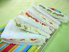 Sándwiches de Miga