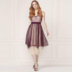 LC Lauren Conrad Runway Collection Layered Tulle Midi Dress - Women s c3fd6d0582b7