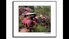 Scenic photography of old rusted abandond cars that I find in the desert and the countryside.
