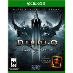 From Activision Diablo 3 Ultimate Evil Edition - Video Games (xbox One Physical Media Action / Rpg) Video Games Xbox, New Video Games, Xbox One Games, Ps4 Video, Resident Evil 5, Wii, Videogames, Jeux Xbox One, Activision Blizzard
