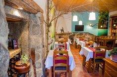 Casa As Fontes Porqueir�s Featuring a restaurant and bar, Casa As Fontes is set in a recently renovated 300 year-old building. The guest house also offers a tour desk, guest lounge, and communal kitchen.  The rooms all come with a balcony and mountain views.