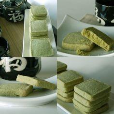 Sablés au thé vert Matcha, sans gluten