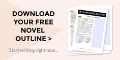 Download this plot outline for an 80,000-word novel!