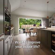 Want to create a family living space that's light, bright and airy? VELUX roof windows can bring twice the daylight into your extension, transforming your living space with light and fresh air. So bring the outside in and improve your indoor life with VELUX®.