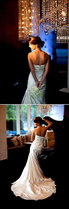 Dallas' W Hotel created a great backdrop to this bridal photo shoot orchestrated by Dallas Wedding Planner Jordan Payne.