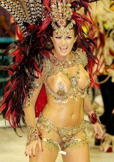 Samba Carnival Rio Brazil