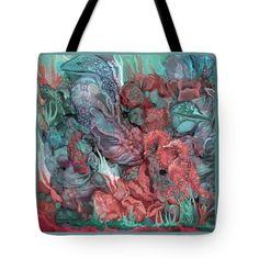 Under The Sea Tote Bag by Carol Cavalaris