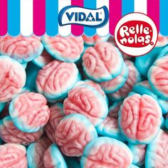 jelly filled brains 1kg fruit flavoured jelly sweets Candy Gift Baskets, Candy Gifts, Candy Recipes, Gourmet Recipes, Blue Sweets, Brain Shape, Candy Videos, Candy Kabobs, Candy Brands