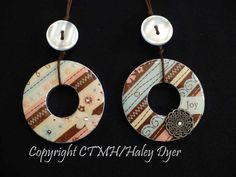 Washer Pendant Tutorial.  If you can paint your fingernails, you can probably make this craft!