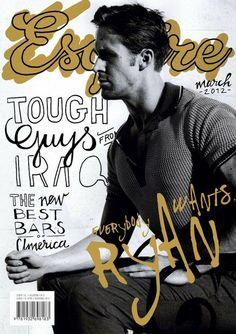 Ryan Gosling on Esquire magazine, March 2012.