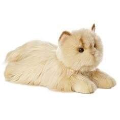 My furr-iend got me one of these Miyoni Persian stuffed toys.  It is purr-ty cute!