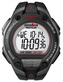 Timex Ironman Oversized (Black & Red)  is an easy to use watch for fitness beginners.