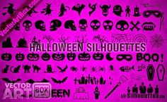Super Collection of Free Resources for Halloween: Vectors, Fonts, Flyers, Stock images, Styles, Patterns...