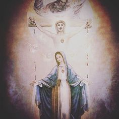 """Por Cristo con María en el Espíritu Santo hacia el Padre"" (P. José Kentenich)  #medjugorje #međugorje #love #mercy #art #paz #paint #instagram #love #freedom #church #christian #christ #catholic #catolico #dios #god #reinadelapaz by cmrp_a"