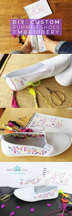 images about DIY shoes Summer Shoes, Sharpies