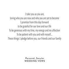 WeddingVows_Personal_Secular