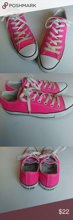 55d9595ce454e Pink low top Converse EUR 39 Pink low tops Converse All Star Mens 6 Women s  8 EUR 39 CM Gender  Unisex Converse Shoes Sneakers