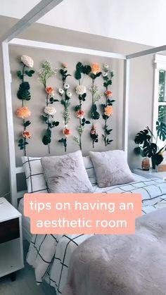 Cute Bedroom Decor, Room Ideas Bedroom, Teen Room Decor, Bedroom Ideas For Small Rooms For Teens, Bedroom Inspo, Diy For Room, Art For Bedroom, Bedroom Decor For Teen Girls Dream Rooms, Teen Room Colors