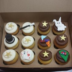 Magician cupcakes by Frostings Bake Shop