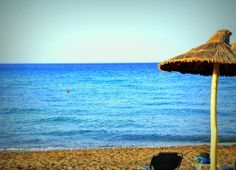 Ammoudara beach! Crete, Anna, Patio, Beach, Outdoor Decor, Home Decor, Decoration Home, The Beach, Room Decor