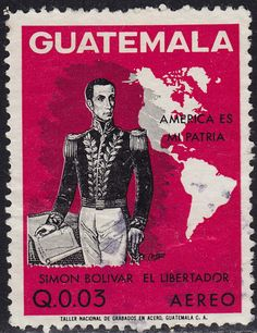 Guatemala - 1973 - Scott #C504 - used - Simon Bolivar - bidStart (item 35074932 in Stamps... Guatemala)