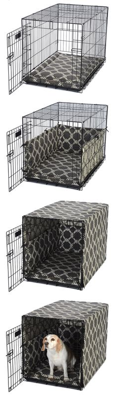Dog Crate Cover and Padding Set · FelixChien.com