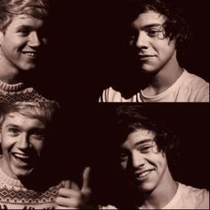 Niall and Harry being... you know...Niall and Harry. <3 wow I didnt even know you could love a person this much...or 5 people