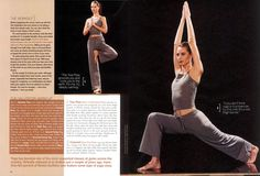 "Christy Turlington in ""Yoga Beauty"" by Christophe Jouany for Shape, September 2000 [2/4]"