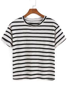 Striped Black T-shirt