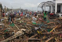 Super Typhoon Haiyan Disaster Relief : Charity Navigator     getting things together to be shipped. Mara/OperationShapeup.com