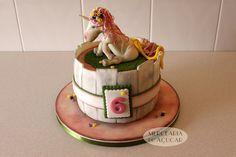 Unicorn Cake - Bolo Unicórnio