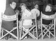 Maurizio Arena, Marisa Allasio and director Dino Risi