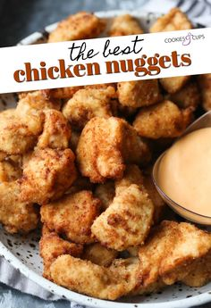 Homemade Chicken Nuggets are flavor packed and delicious. Just like Chick Fil A, with juicy chicken and a crispy coating. You can fry or bake these! Fried Chicken Nuggets, Homemade Chicken Nuggets, Chickfila Chicken Nuggets Recipe, Fried Chicken Chunks Recipe, Chick Fil A Fried Chicken Recipe, Recipes With Chicken Chunks, Healthy Chicken Nuggets, Chick Fil A Recipe Copycat, Copycat Recipes