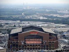 Indianapolis Colts--Lucas Oil Stadium: Indianapolis, INDIANA - Lucas Oil Stadium Photo by Tom Strickland at Art.com