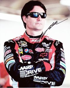 AUTOGRAPHED 2011 Jeff Gordon #24 Drive to End Hunger / AARP (Sunglasses) 8X10 Photo by Trackside Autographs. $49.95. For your viewing pleasure: *AUTOGRAPHED* 2011 Jeff Gordon #24 Drive to End Hunger / AARP (Sunglasses) 8X10 Photo. This glossy NASCAR picture was hand-signed by Jeff through a well-respected member of Global Authentication. You will receive a Certificate of Authenticity (COA) with your purchase, and we also offer a 100% life-time guarantee regarding authenticity! ...