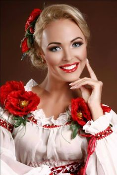 modern adaptation of traditional Ukrainian themes and embroidery.