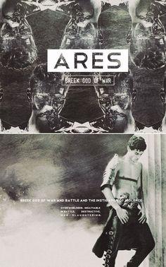 Ares: Greek god of war & battles & the instigator of violence. #myth