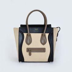 2017 Celine Boston Smile Tote Handbag 98169 Black Handbags Replica