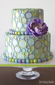 Gorgeous Cakes, Pretty Cakes, Cute Cakes, Amazing Cakes, Sweet 16 Cakes, Dessert Party, Decors Pate A Sucre, Cake Wrecks, Piece Of Cakes