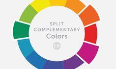 Split Complementary Colors Header