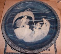 Incolay Plate The Sirens Voyage of Ulysses Series Alan Brunettin
