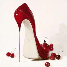 Inna Panasenko - Cherry Love - jetzt bestellen auf kunst-fuer-alle.de