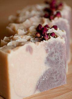 Buttered Rose Handmade Soap by Oakwood Soaperie www.oakwoodsoaperie.co.uk